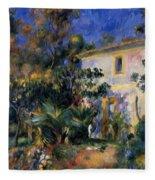 Algiers Landscape 1895 Fleece Blanket