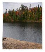Algonquin Provincial Park Ontario Fleece Blanket