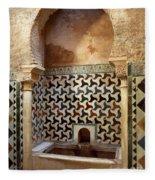 Alhambra Palace Baths Fleece Blanket