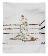 Ali Knockout Fleece Blanket
