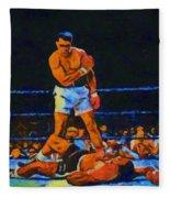Ali Over Liston Fleece Blanket