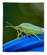 Alice The Stink Bug 2 Fleece Blanket