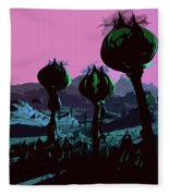 Alien Eden Fleece Blanket