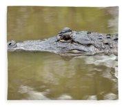 Alligator Stealth Fleece Blanket