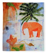 All Creatures Great And Small Fleece Blanket