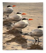 All Lined Up Fleece Blanket