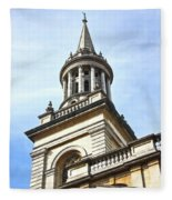 All Saints Church Oxford High Street Fleece Blanket