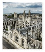 All Souls College - Oxford University Fleece Blanket