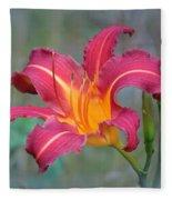 All Summer Lily Fleece Blanket