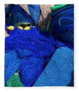 All The Blue Of The Sea Fleece Blanket