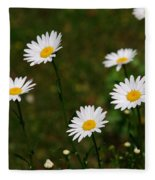 All The Daisies Fleece Blanket