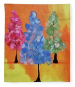 All The Pretty Colors II Fleece Blanket