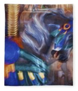 All The Pretty Horses Fleece Blanket