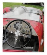 Allard J2 Racer. Fleece Blanket