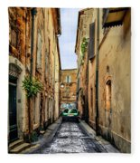 Alley In Avignon Fleece Blanket
