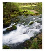 Alley Spring Branch Fleece Blanket