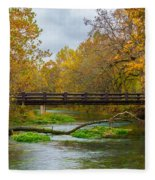 Alley Spring River Fleece Blanket
