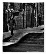 Alley Stroll Fleece Blanket