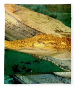Alligator Fleece Blanket