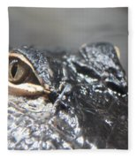 Alligator Eye Fleece Blanket