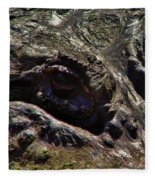 Alligator Eye Fleece Blanket