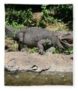 Alligator Surprise Fleece Blanket