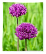 Alliums Fleece Blanket