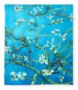 Almond Blossom Fleece Blanket