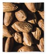 Almond Nuts Fleece Blanket