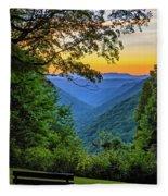 Almost Heaven - West Virginia 3 Fleece Blanket