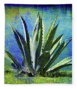 Aloa Blue Fleece Blanket