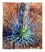 Aloe Vera In Meadow Fleece Blanket