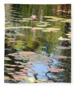 Alone With My Thoughts Fleece Blanket