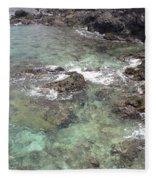 Along Coki Beach Fleece Blanket