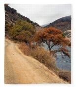Along The Kalamath - Oregon Fleece Blanket