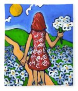Along The New Path Fleece Blanket