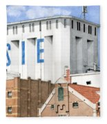 Along The River Zaan Lassie Silo Fleece Blanket