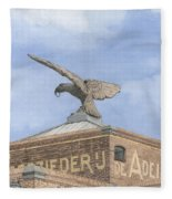 Along The River Zaan Zeepziederij De Adelaar Fleece Blanket