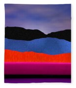 Alpenglow Fleece Blanket