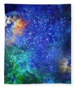 Alpha Centauri Abstract Moods Fleece Blanket