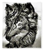 Alpha Male - The Wolf Fleece Blanket