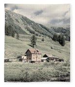 Alpine Farm Fleece Blanket