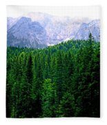 Alpine Forest Fleece Blanket