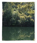 Alpine Lake Fleece Blanket