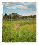 Alpine Meadow Fleece Blanket