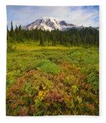 Alpine Meadows Fleece Blanket