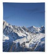 Alpine Panorama Fleece Blanket