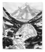 Alpine River Fleece Blanket