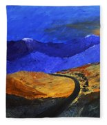 Alpine Vista Fleece Blanket