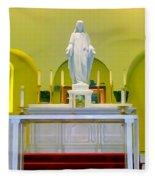 Altered Altar Fleece Blanket